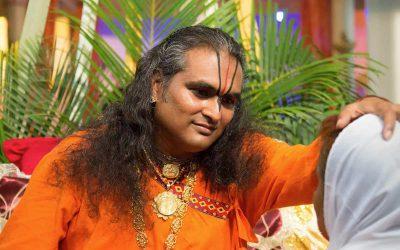 Spletni daršan z razsvetljenim mojstrom Paramahamso Vishwanando